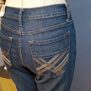 Jeanstar Bootcut Stretch Jeans Size 4